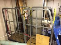 Commercial Trolley Cage for Stock etc Other uses Possible. SOLID