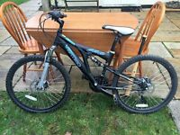 "mountain bike 24"" wheels virtigo eiger 21 speed"