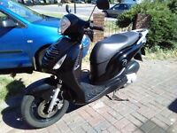 2008 Honda PS 125 automatic scooter, long MOT, black, very good runner, hpi clear, ride away,,,