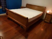 Superking Sleigh Bed