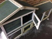 Rabbit / Guinea pig hutch - never used