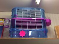 Brand new 2 tier hamster cages (pink or blue)