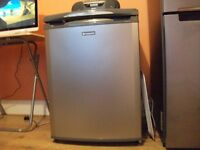 Silver Hotpoint fridge - very good condition