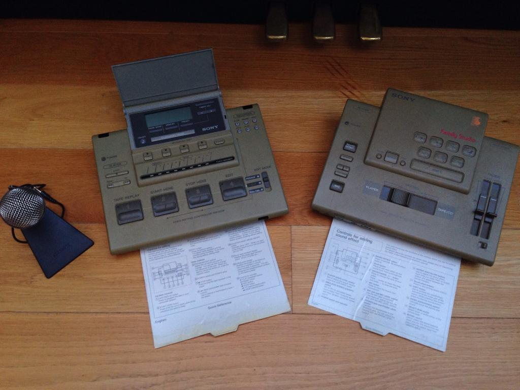 Sony Video Editing Equipment (Family Studio)