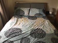 lovely double bed inc matress