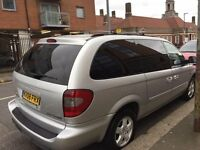 Chrysler Grand Voyager , 7Seater, Automatic ,Diesel , Full Leather , MOT 24/02/2018