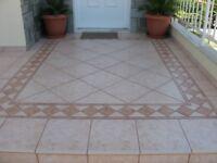 Tiler. Tiling. Specialist in Greek Mosaic.