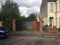 Mixed use secure lockup garage workshop to let with off street parking, storage or light industrial