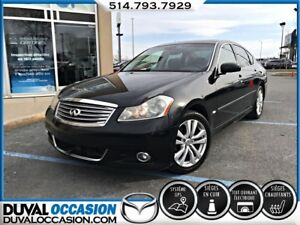 2009 Infiniti M35X Luxury + AWD + NAVIGATION + CUIR