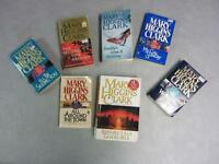 Collection of Mary Higgins Clark books