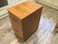 Filing Cabinet - Wooden