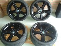 ***BMW GLOSS BLACK 19 INCH ALLOYS FOR SALE***
