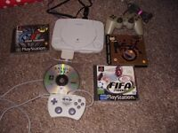 PLAYSTATION 1 SLIM WITH GAMES