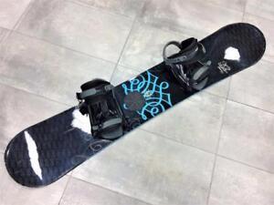 Snowboard Planche à neige K2 Satori 147cm + Fixations  #F006135