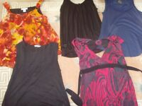 ASSORTED LADIES TOPS,SIZE 14-16, - £1 EACH