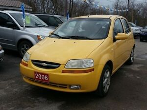 2006 Chevrolet Aveo ,cert&etested,LOW KMS!!