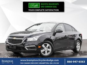 2015 Chevrolet Cruze LT|REMOTE START|LEATHER|SUNROOF|ON-STAR|HEA