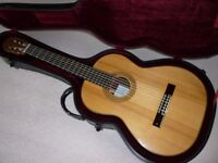 Classical Guitar, hand made by Stephen Frith.