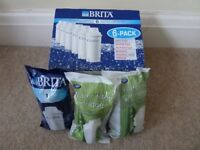 10 Water Filter Cartridges + 1 free to fit Brita Classic Filters