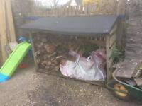 Log store - bargain for quick sale