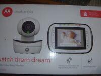 Motorola Watch Them Dream Digital Baby Monitor Model MBP41