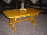 solid wood coffee table in leicester