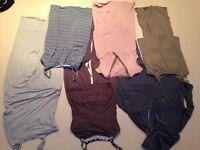 Maternity pyjamas x3, nightdresses x2 and joggers. size 14