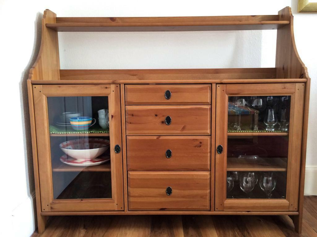 Alfa img - Showing > IKEA Leksvik Cabinet and Shelves