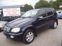 Mercedes ML 270 CDI Inspiration Auto,2688 cc 4x4,full electric leather interior,after market stereo