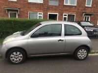 Nissan Micra, Silver, Good Condition, MOT included