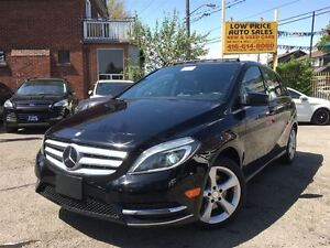 2014 Mercedes-Benz B-Class PanoramicRoof, LedLights, Camera&MBWa