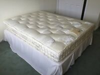 Harrison double bed and mattress