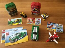 LEGO 3 in 1 Creator (4 sets fully complete) with instructions