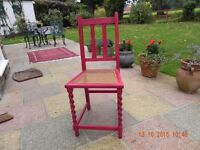 A Classic caned Chair