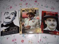 Poirot 6 DVDs - 1 pound each