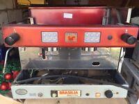 Coffee machine for coffee van for sale