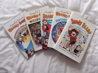 5 Beano and Dandy books .