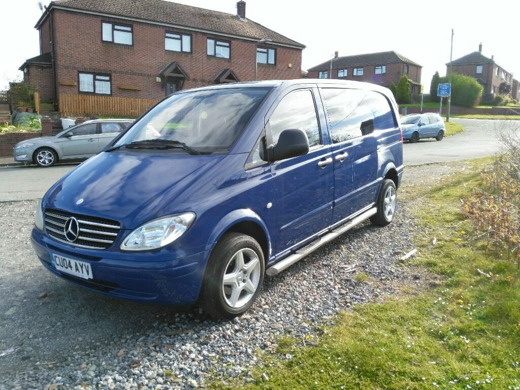 Mercedes vito compact blue 5 seater van in swansea gumtree for Mercedes benz swansea