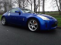 2004 NISSAN 350Z GT ONLY 68600 MILES RAYS/BOSE/ XENON'S WITH FULL SERVICE HISTORY BREMBO BRAKES