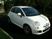 2015 65 PLATE FIAT 500 1.2 SPORT JUST 1845 MILES AS NEW