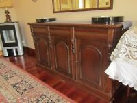 Dining Room Sideboard, 3 drawer with cupboards under