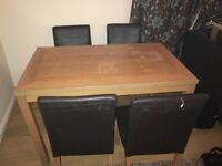 free to collect table and chairs