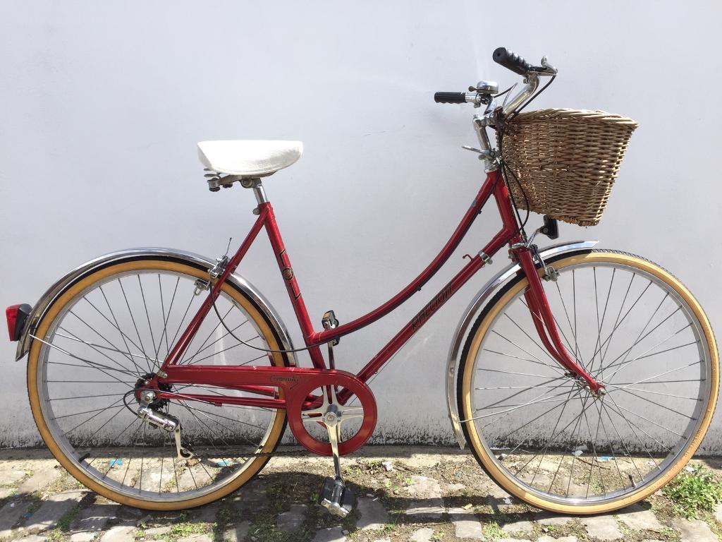 Vintage Dutch loop frame Raleigh Commuter bike bicycle | in ...