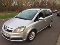 2006 (55) Vauxhall Zafira 1.6, Club, Full MOT, 7 Seater. Fsh