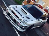 Subaru Impreza WRX WAGON sti modification bigger turbo