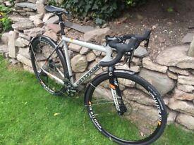 Cannondale caadx gravel bike
