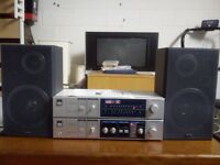 100% JAPANESE QUALITY 3 separate sistem JA SANYO 220, JT 220L, SANYO SX 802.Full working condition