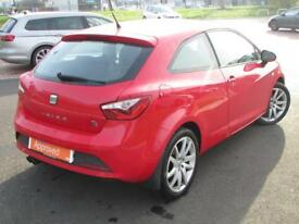 SEAT Ibiza TSI FR (red) 2013-04-30
