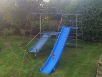 Childrens TP climbing frame / slide