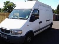 Vauxhall Movano 1999, spares or repairs